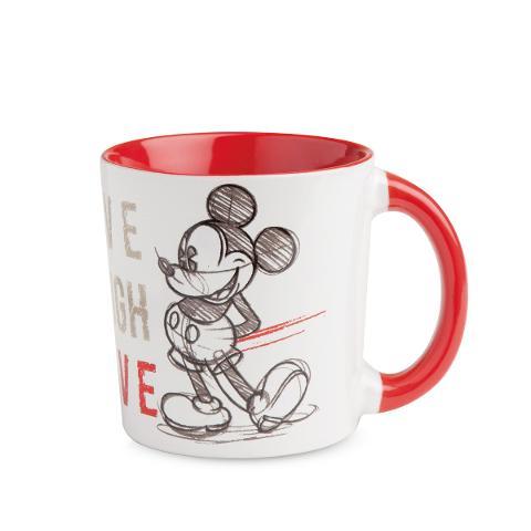 Tazza mug in porcellana decorata Egan LIVE LAUGH LOVE