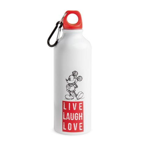 Bottiglia in alluminio decorata Egan LIVE LAUGH LOVE