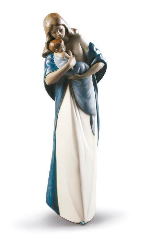 Scultura in porcellana gres spagnola  Nao by Lladro MADONNA