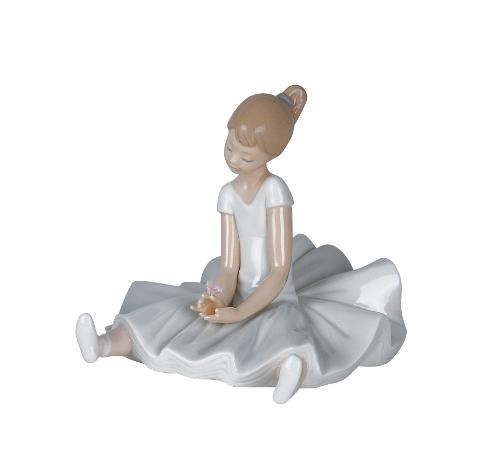 Scultura in porcellana spagnola  Nao by Lladro IL MIO PRIMO TUTU'