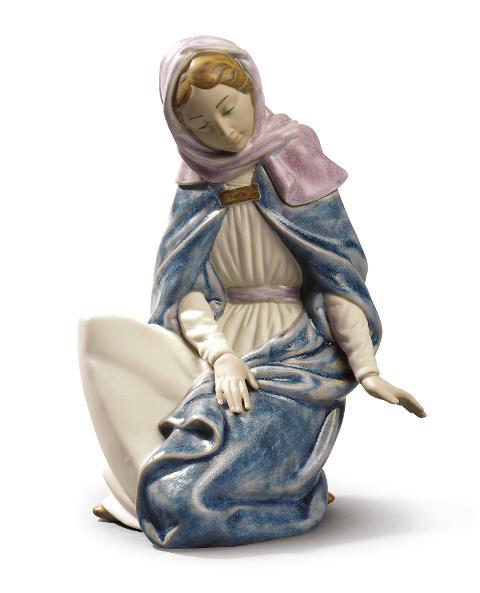 Scultura in porcellana spagnola  Nao by Lladro MADONNA