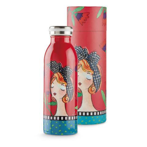 Bottiglia termica da viaggio in acciaio inox  Egan LE PUPAZZE