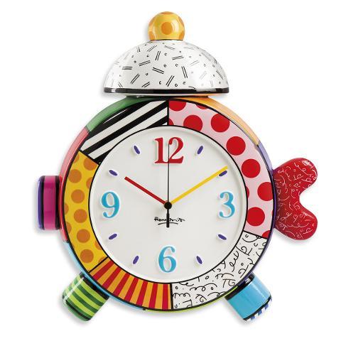 Orologio in ceramica decorata  Egan BRITTO ICON