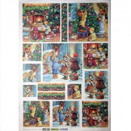 Carte Di Riso Renkalik.Carta Riso Aspettando Il Natale Renkalik 8057438732142 Bagheria
