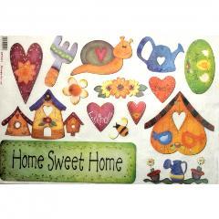 Carta home sweet home stamperia 33x48