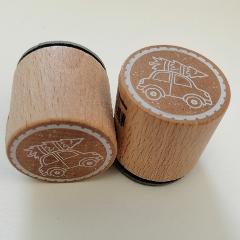 Automobile con abete Timbro Woodies diametro 3cm