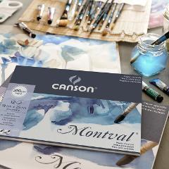 Blocco acquerello  Canson Montval FORMATO 36x48cm 300g/mq