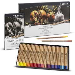 Polycolor set  Lyra Rembrandt  12 matite colorate per artisti