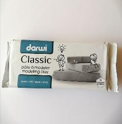 pasta  per modellare darwi colore bianco panetto da 1kg