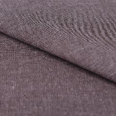 stoffa in cotone effetto telato jeans unica tinta colore marrone  stafil 180 cm x 50 cm