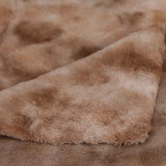 Tessuto Pelliccia Eco pelliccia miele Arti e grafica H 155x 50 cm