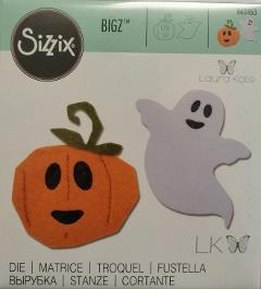fustella bigz felice halloween sizzix 14 x 14 cm