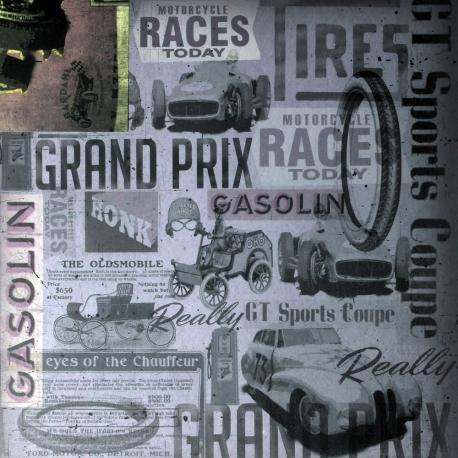 Carta da scrapbooking grand prix stamperia foglio