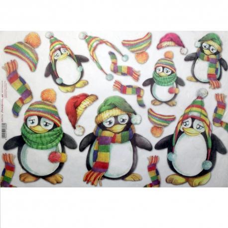 Pinguini stamperia 33x48