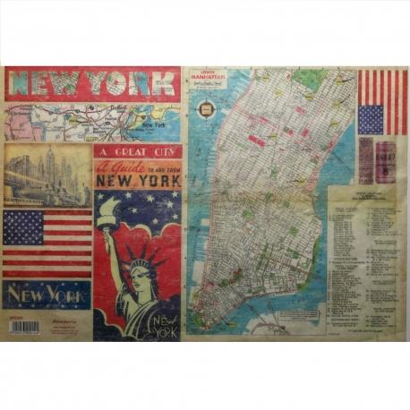 Carta riso New York stamperia 33x48