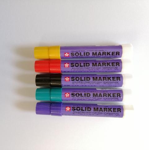 Sakura solid marker pastello industriale sakura diametro 20mm