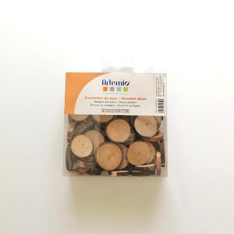 Dischetti di legno  Artemio D 1.5-3cm