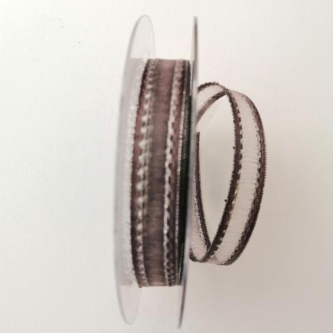 decoro tortora trasparente ed argento pbs fondo tortora mm15