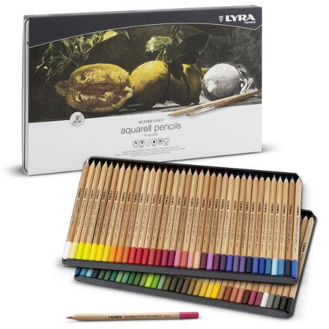 Aquarell set Lyra Rembrandt  12 matite colorate per artisti