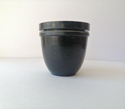 Stampo per candela a forma di uovo stamperia D 5.5 cm