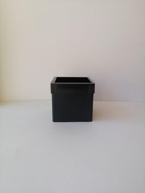 Stampo per candela dalla forma cubica stamperia 7,5  x  7,5 cm