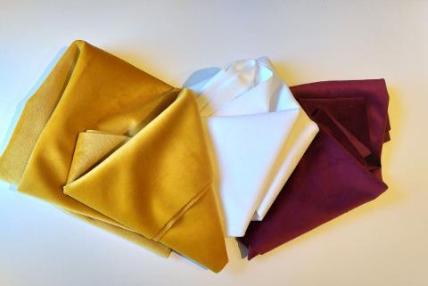 tessuto velluto Renkalik  confezione da 50 x 70 cm  100 %  PL
