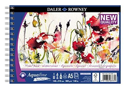 travel book per acquerello daler rowney A5 148 x 210 mm 300 g/m^2