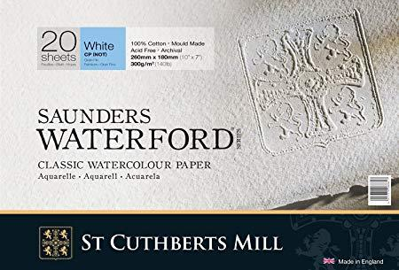 Saunders waterford st cuthberts mill Grana Fine 100% cotton 310x230 mm