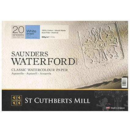 Saunders Waterford  St cuthberts mill Grana Fine 100% cotton 360 x 260 mm