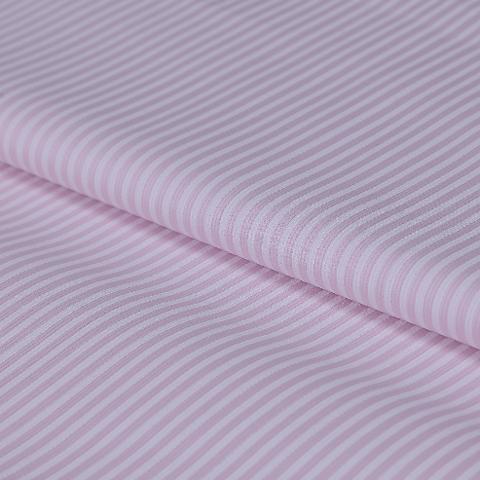 stoffa rigatino con righe colori rosa e bianco stafil altezza 140cm