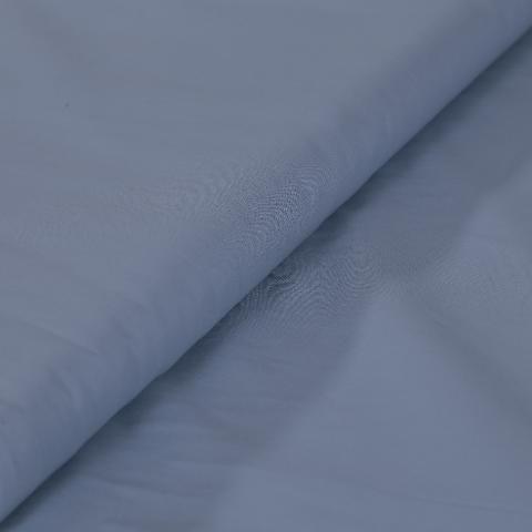 stoffa in cotone azzurro cenere stafil altezza 140 cm