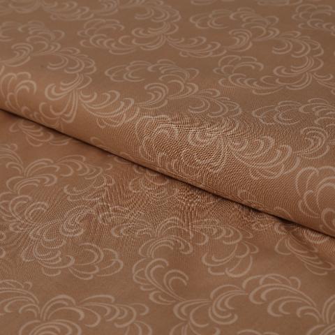 stoffa in cotone fantasia ghirigori gialli  hft altezza 110 cm x (multipli di 50cm)