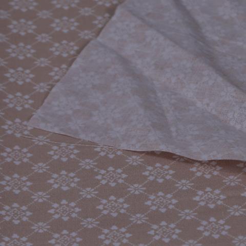 stoffa in cotone fondo colre beige stafil Altezza 170 cm x (multipli di 50 cm)