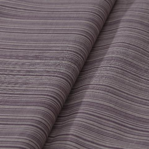 Tessuto misto lino colore naturale a righe arti e grafica cm 150 x 50