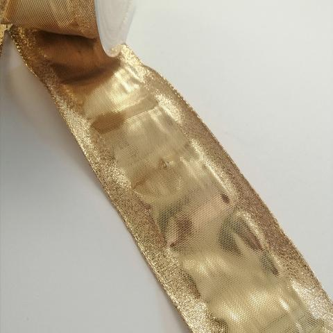 nastro oro  goldina 60 mm x 1 mt
