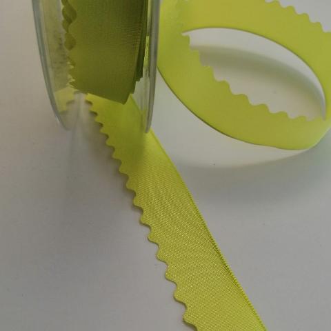 nastro raso verde lime  stafil 20 mm x 1 metro