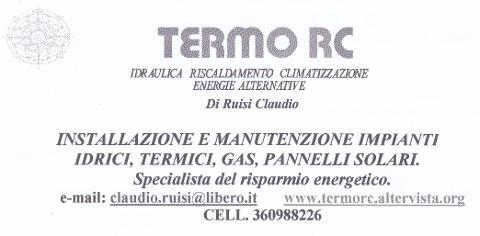 Termo RC di Ruisi Claudio