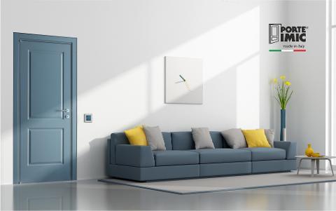 PORTE LACCATE IMIC Shape 800 S_blue grey