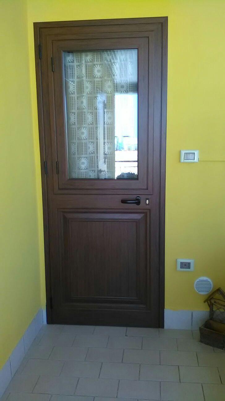 Porte interne in alluminio - Realizzazioni - Bagheria (Palermo)