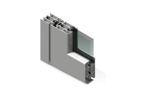 Porte a battente in alluminio taglio termico Twin System