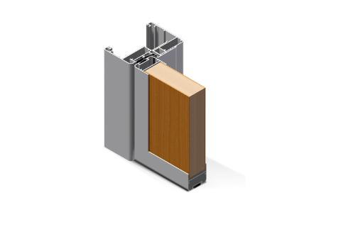 Porte interne in alluminio taglio termico Twin System