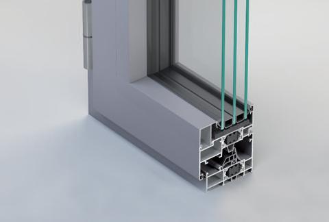 Infissi in alluminio taglio freddo Twin Systems Top 40