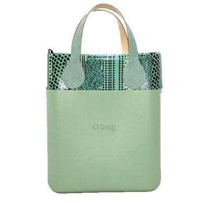 O chic trim. Etnico O Bag O finiture in similpelle fantasia chic
