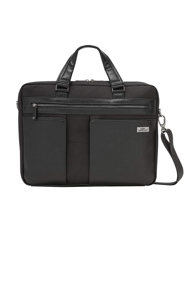 "Borsa Business 2 manici 2 comparti c/porta PC15,6"" nera  RONCATO Borsa Business 2 manici 2 comparti c/porta PC15,6"" nera"
