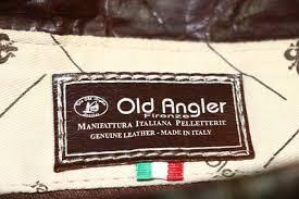 Borsa da Medico in pelle – Testa di Moro 092089TM 	OLD ANGLER  Linea Toscana Collection