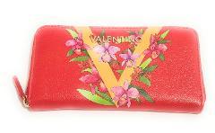 portafoglio donna valentino con zip orchidea MARIO VALENTINO VPS1UZ155 Orchidea