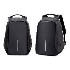 Zaino per Laptop con Ricarica USB  RONCATO Grande capacità Adatta a Laptop e Notebook da 15,6 Pollici (Black)