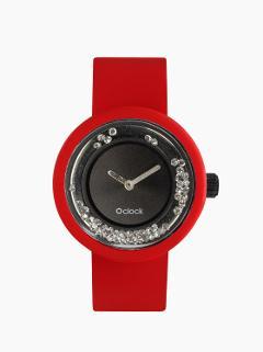 O clock .shiny crystals O Bag Meccanismo O clock shiny crystals