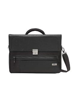 "Borsa Business 1 comparto c/porta PC 15,6"" - Studio nera  RONCATO  Borsa Business 1 comparto c/porta PC 15,6"" - Studio"