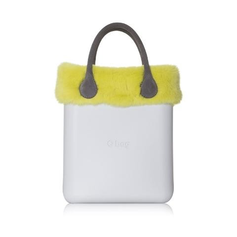 O chic | Rex Lapin Trim O Bag Finiture in pelliccia di lapin per O chic